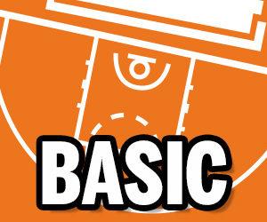 Pizarra táctica baloncesto personalizada BASIC