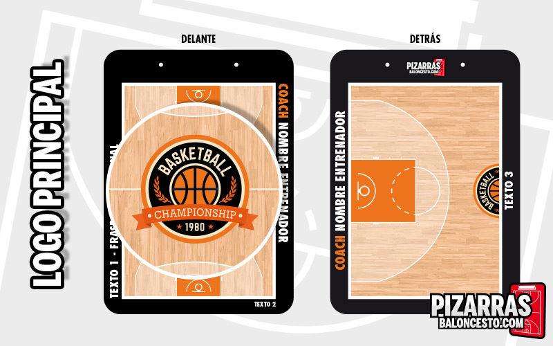 Personalizar pizarra baloncesto logo principal